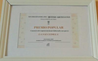 Premio a la Quesería más popular en la Feria del Queso de Teba